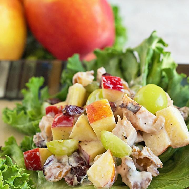 image2-6   Необычные куриные салаты без майонеза