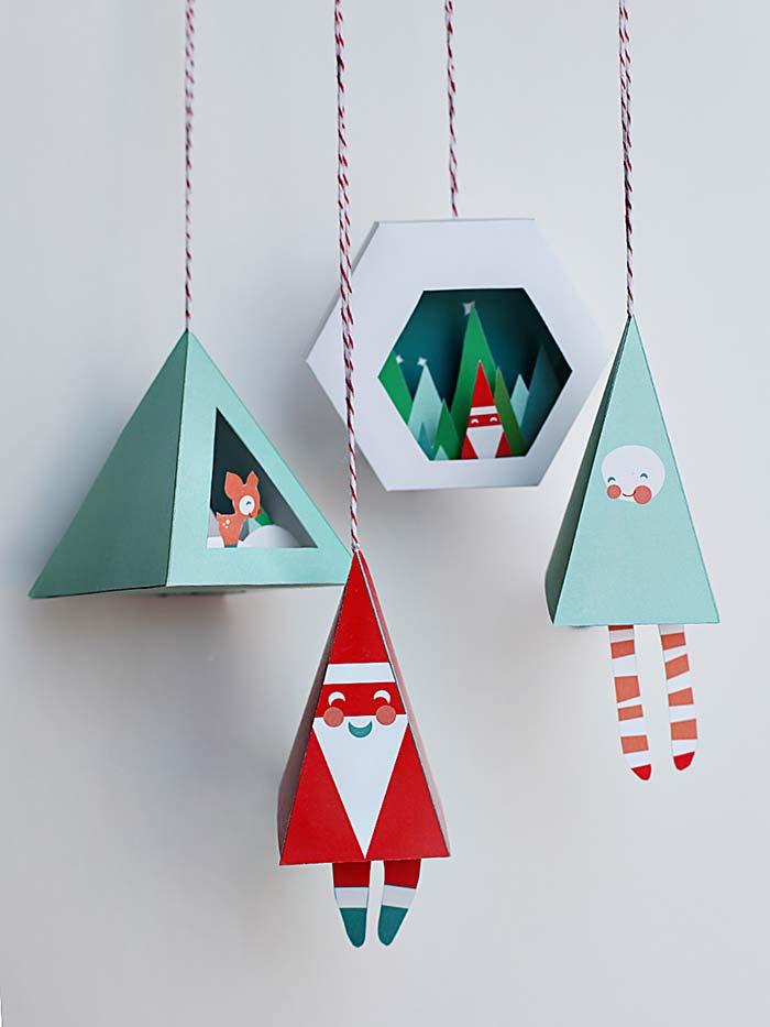 image6-5   Рождественские и Новогодние украшения из втросырья своими руками