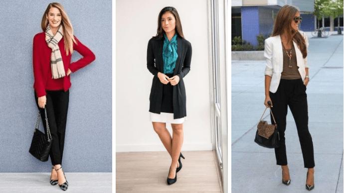 36 идей образов для бизнес-леди