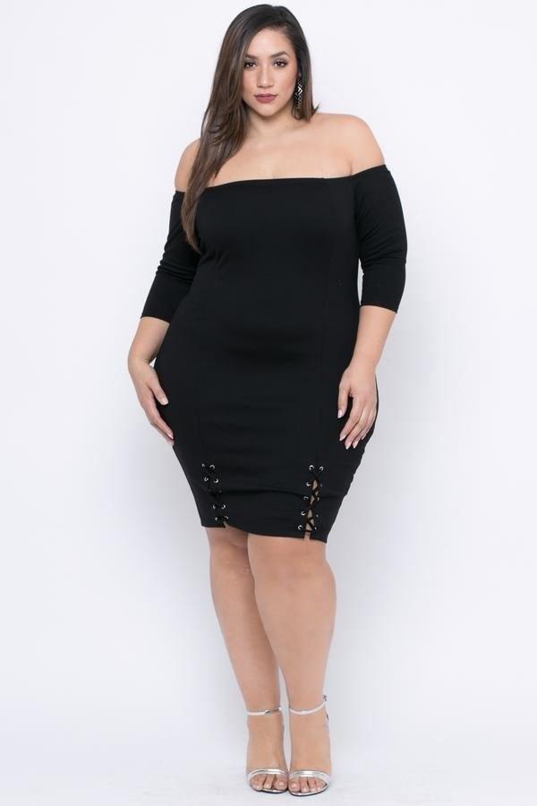 image28-6 | 39 стильных и элегантных платьев для полных женщин
