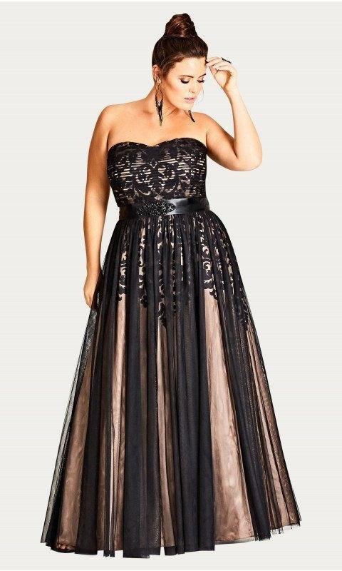 image36-1 | 39 стильных и элегантных платьев для полных женщин