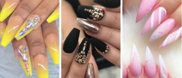 35 идей элегантного маникюра на длинные ногти