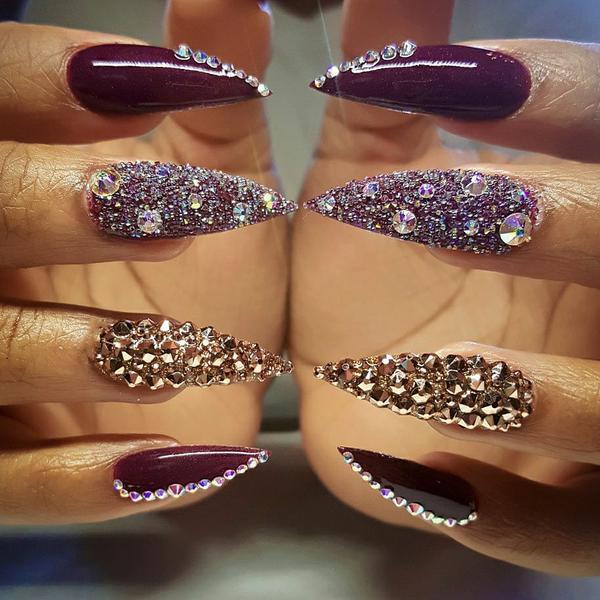image14-4 | Лучшие идеи маникюра на острые ногти, которые вы должны попробовать