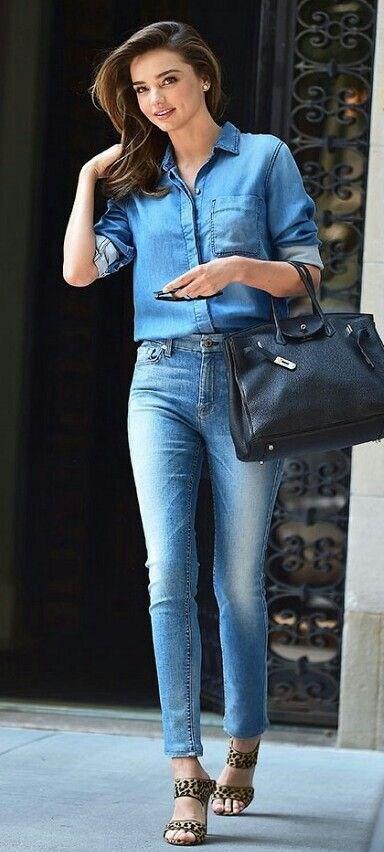 image29-8 | Как носить джинсы этой весной — 39 образов с фото