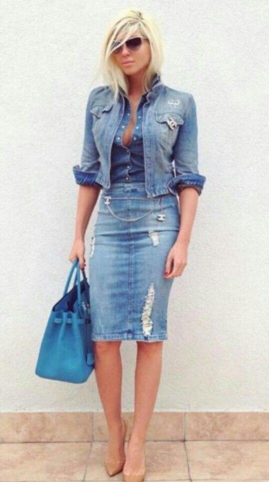 image30-8 | Как носить джинсы этой весной — 39 образов с фото