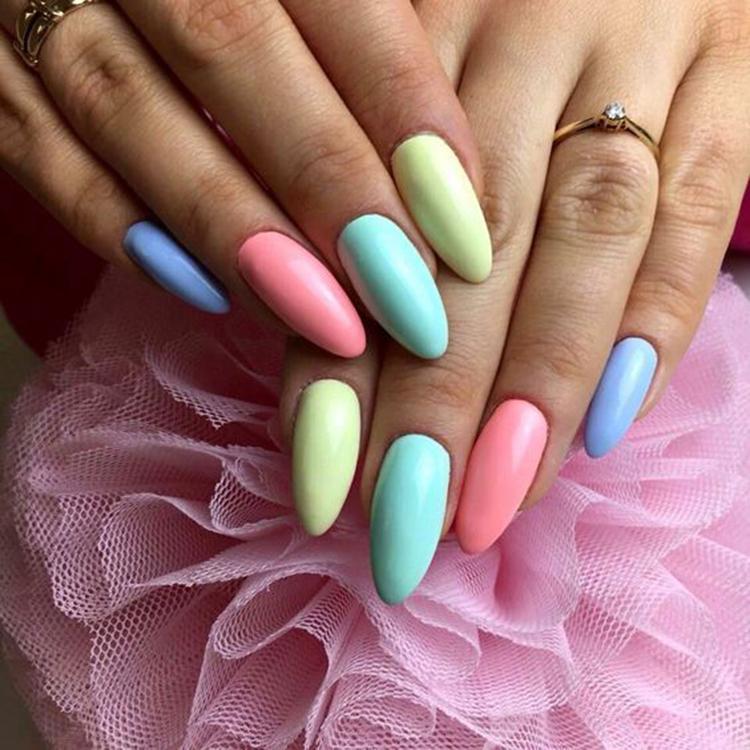 image32-18   34 идеи разноцветного маникюра — радуга на кончиках ваших пальцев