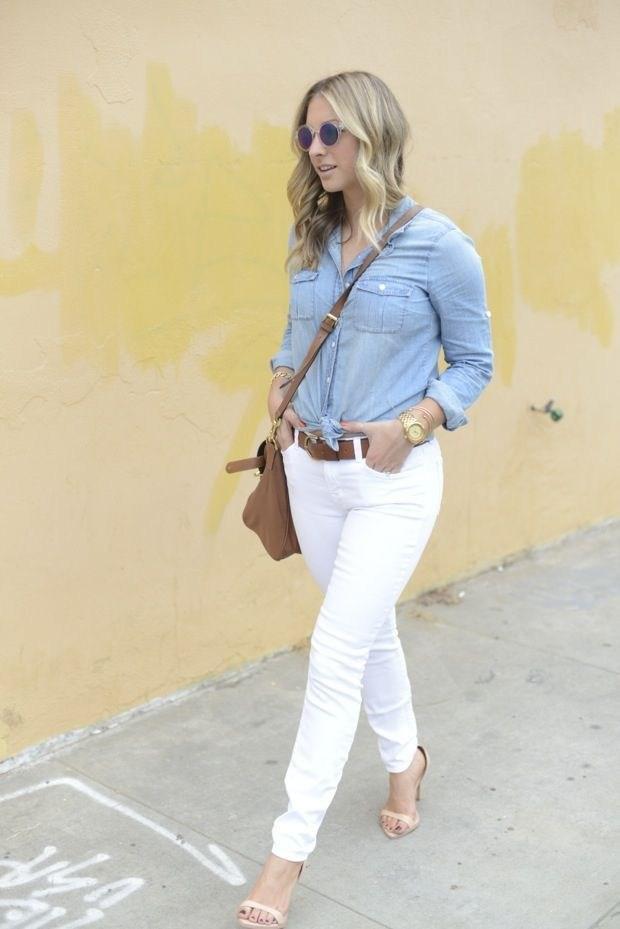 image39-4 | Как носить джинсы этой весной — 39 образов с фото