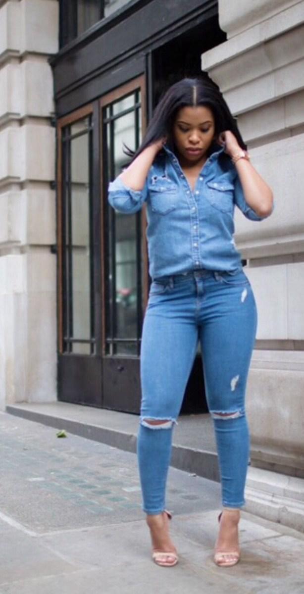image7-12 | Как носить джинсы этой весной — 39 образов с фото