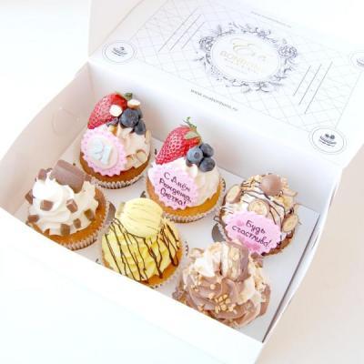 msm | Коробки для капкейков как лучшая упаковка для сладостей