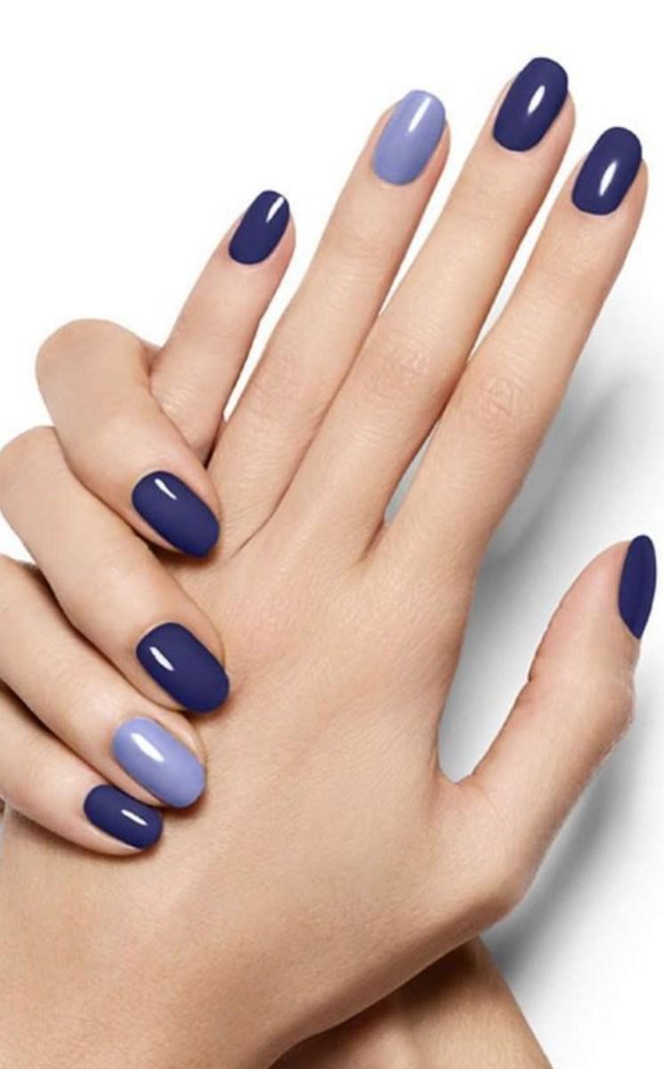 image17-6 | 37 идей синего маникюра на ногти разной формы и длины — найди лучшее решение
