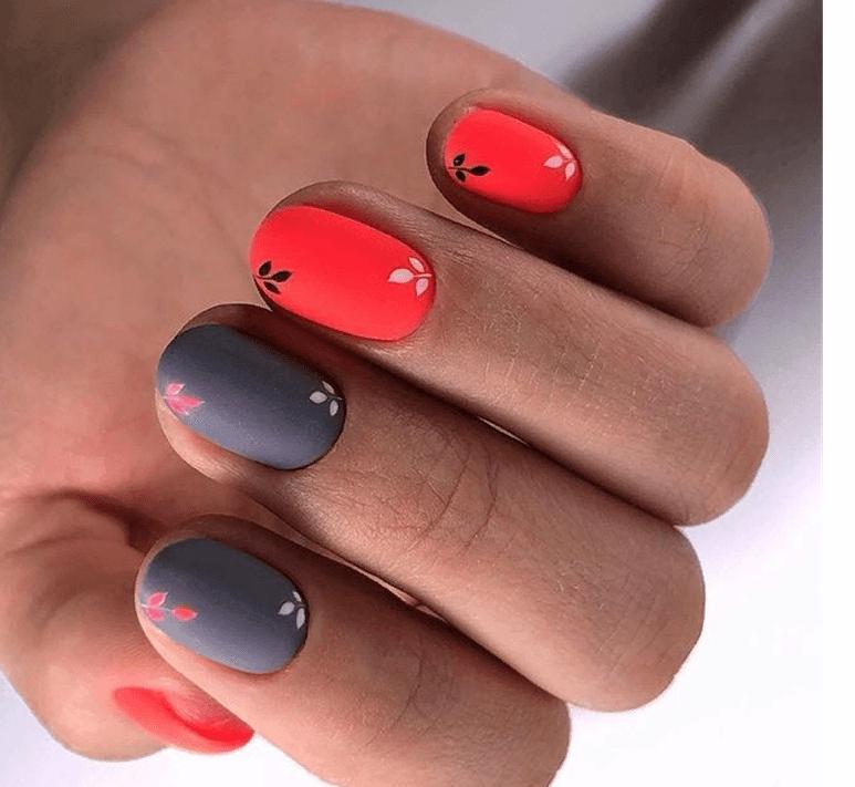 image2-4 | 38 идей матового маникюра на миндалевидные ногти