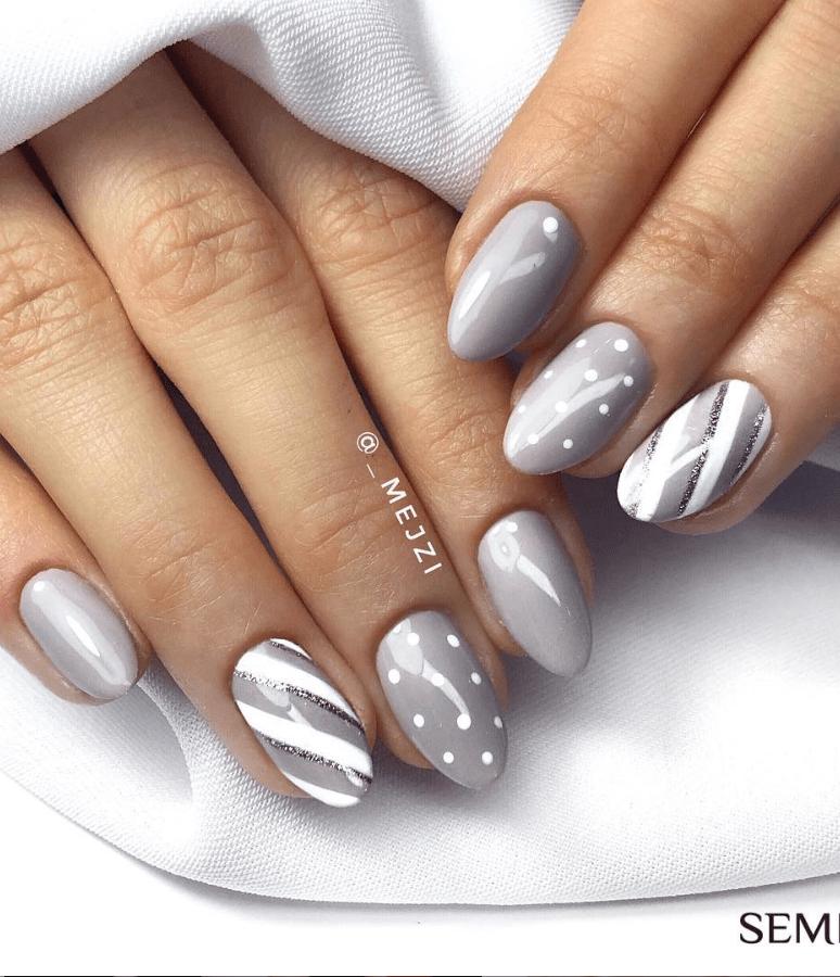 image25-2 | Модные идеи дизайна на овальные ногти