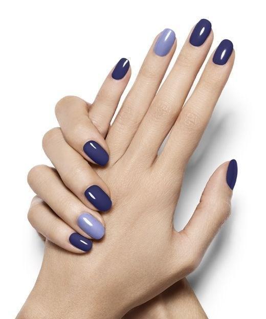 image27-5 | 37 идей синего маникюра на ногти разной формы и длины — найди лучшее решение