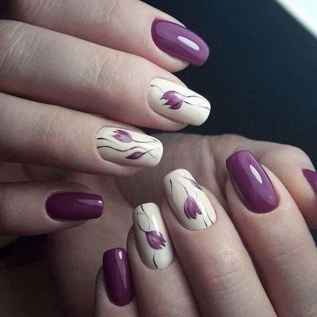 image27-8 | 39 обворожительных идей дизайна ногтей на предстоящую весну