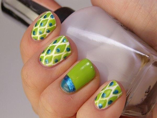 image35-7 | 39 обворожительных идей дизайна ногтей на предстоящую весну