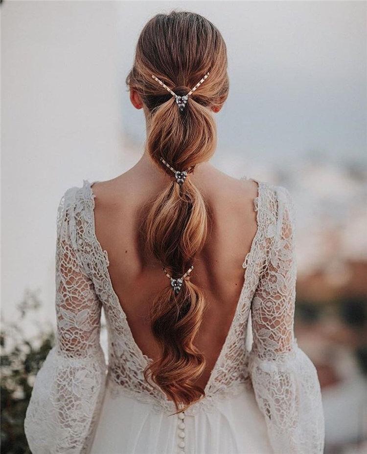 image51-2   70+ свадебных причесок 2019