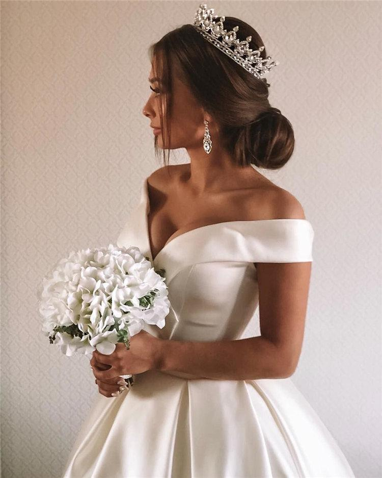 image68   70+ свадебных причесок 2019