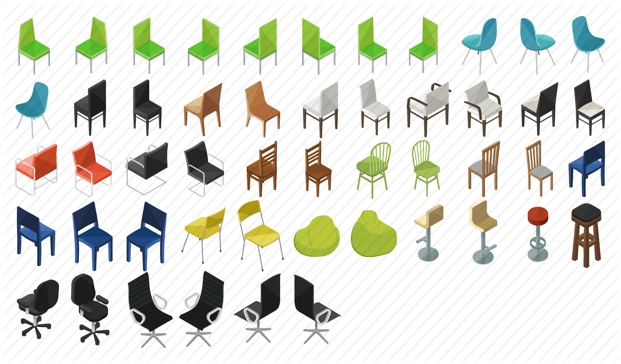 Chairs-Isometric-Home-preview