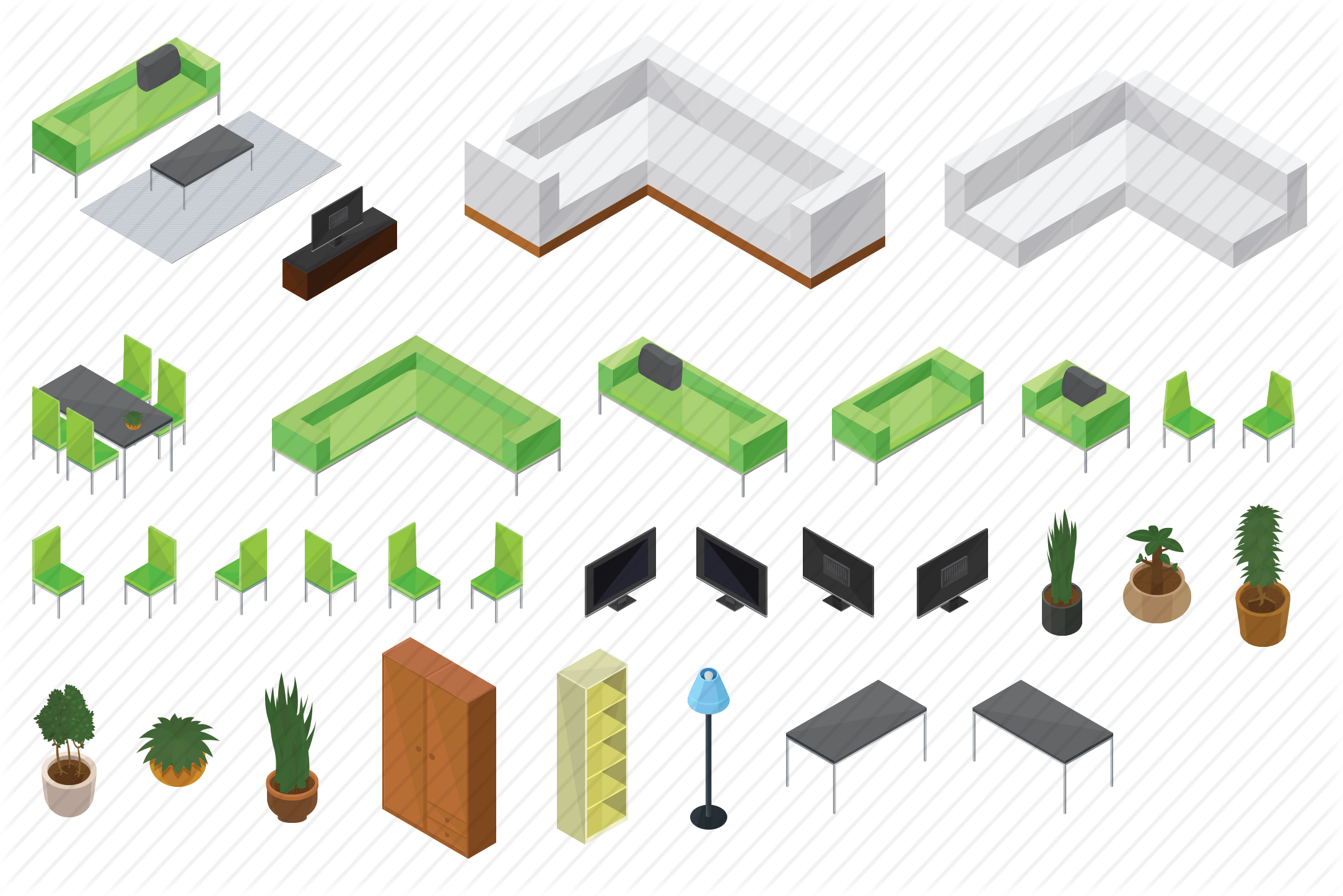 Livingroom-Isometric-Home-preview