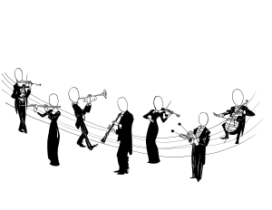 Musicians of the Indianapolis Symphony Orchestra Logo
