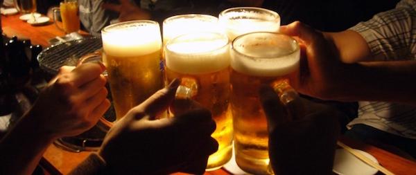 アルコール摂取のしすぎ