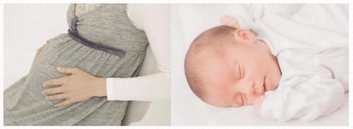 胎児も横向き姿勢で寝る