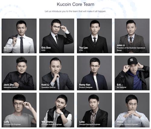 KuCoinチーム