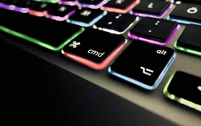 Bottom_Colorful_Lighted_Mac_Keyboard_HD_Desktop_Wallpaper