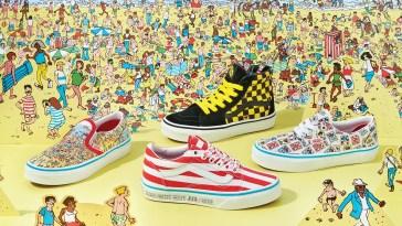 """Colaboración entre Vans y """"Where's Waldo"""" revela una divertida colección de calzado y ropa para fans de todas las edades"""