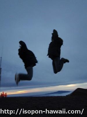 マウナケア山頂7ジャンプ