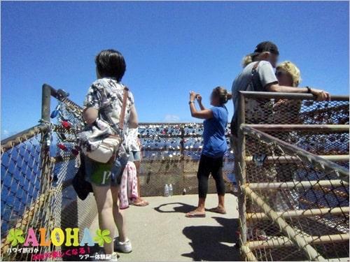 マカプウ岬ハイキングツアー_11展望台の様子