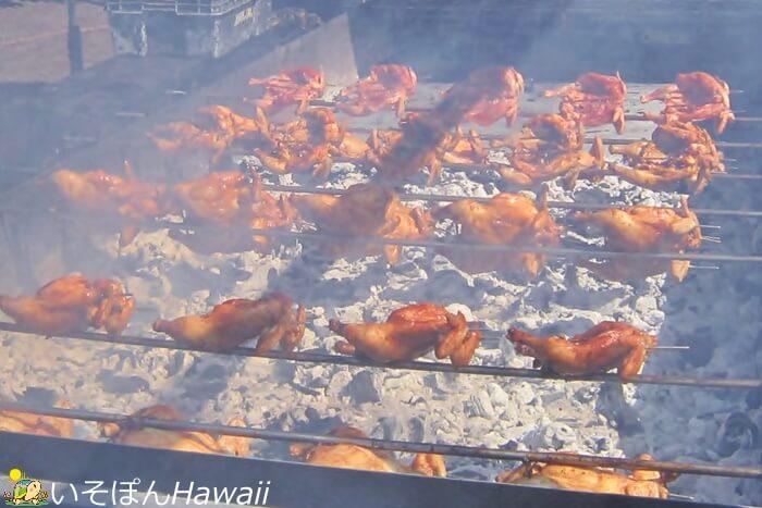 フリフリチキンを焼いている画像2