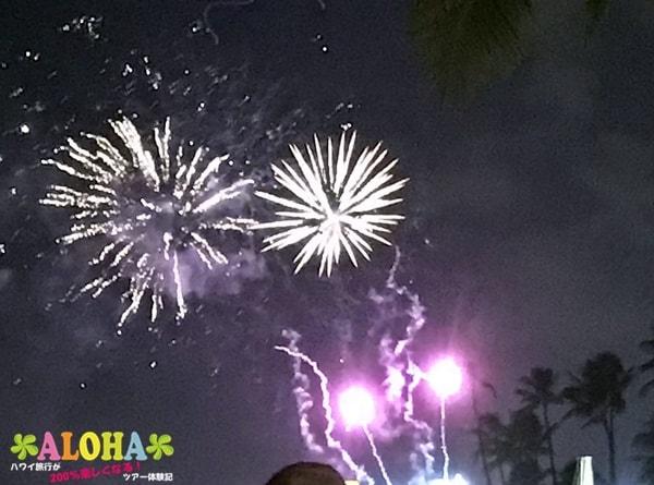 ヒルトンまで行かずにハワイの花火が見える場所と人気スポットまとめ