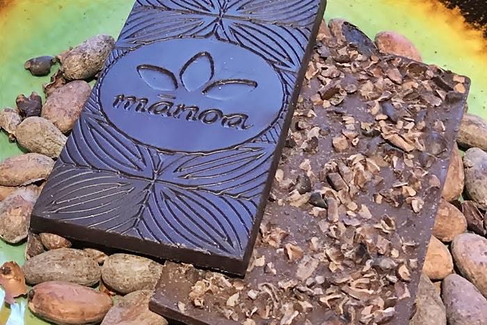 マノアチョコレートの中身