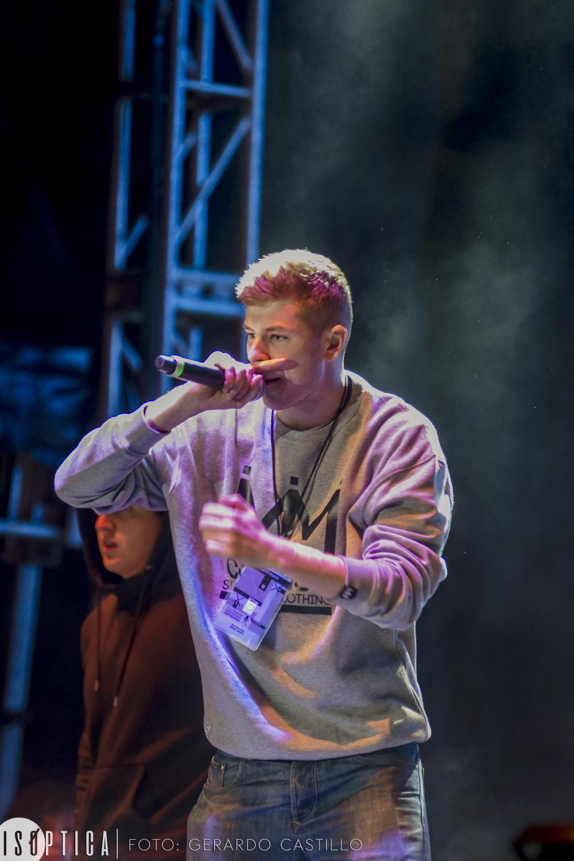 """""""Rap en Cervantes""""  dentro del XLIV FIC"""