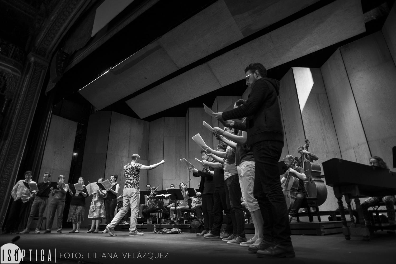 Ensayo de Le Concert Sirituel