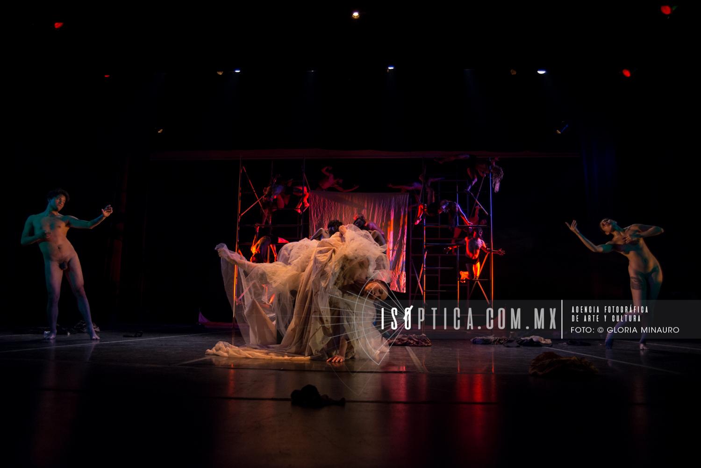Lola Lince, La Caída, Teatro de la Danza, Fotografía:©Gloria Minauro/isoptica