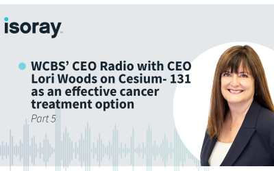 WCBS' CEO Radio with CEO Lori Woods on Cesium- 131 as an effective cancer treatment option