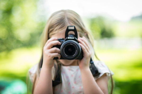 Child Using Camera Free Stock Photo - ISO Republic