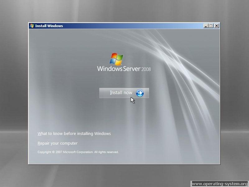 windows server 2008 iso