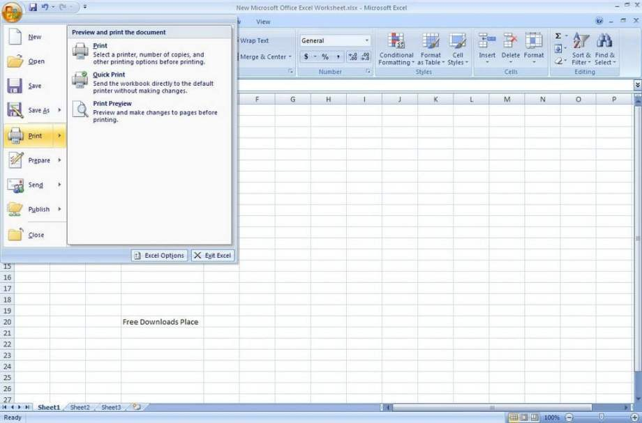 Microsoft Office 2007 Full Version Download for Free 3
