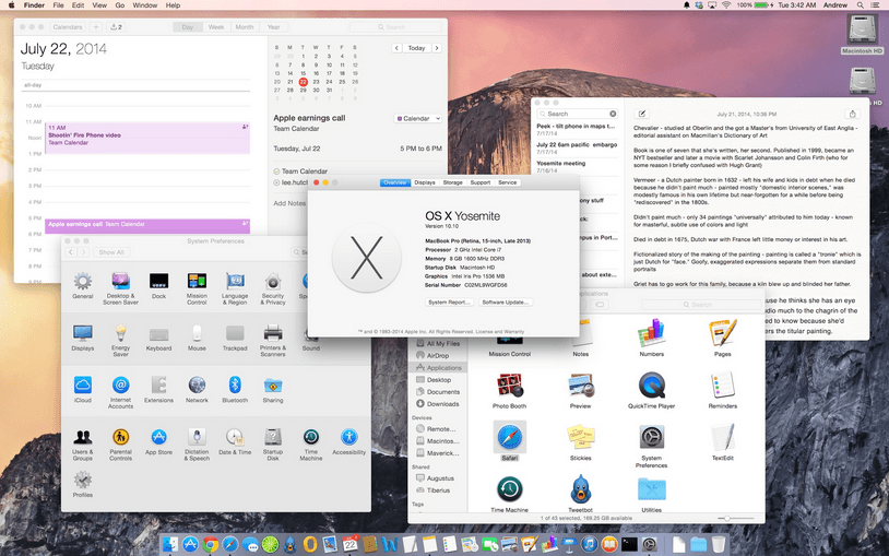 From where I can download the .iso file of the OS X Yosemite for free