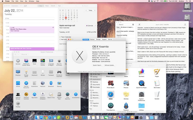 Mac Os X Yosemite Free Download
