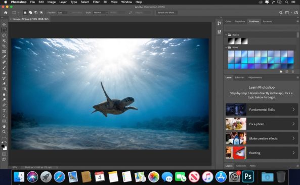 Where can you download Adobe Photoshop 2020 for Mac OS