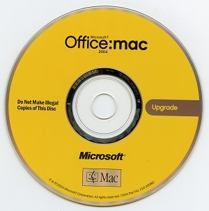Download Microsoft Office 2004 for Mac free 1