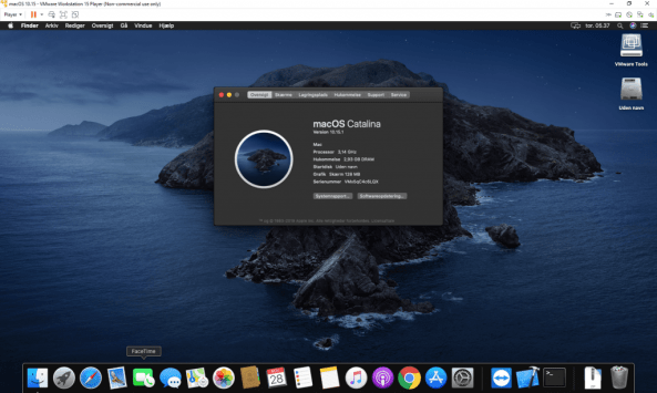 Where can you download macOS Catalina Image file for Virtualbox and VMWare