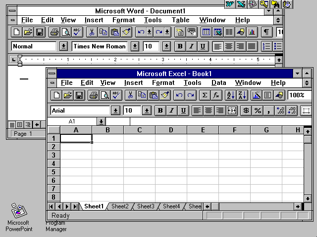If are you looking for download Microsoft Office 95 Professional free