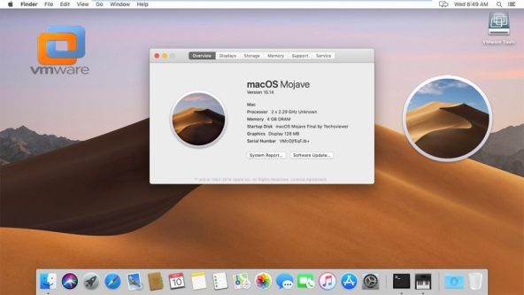 Where can you download macOS Mojave 10.14 Virtual Box and VMWare