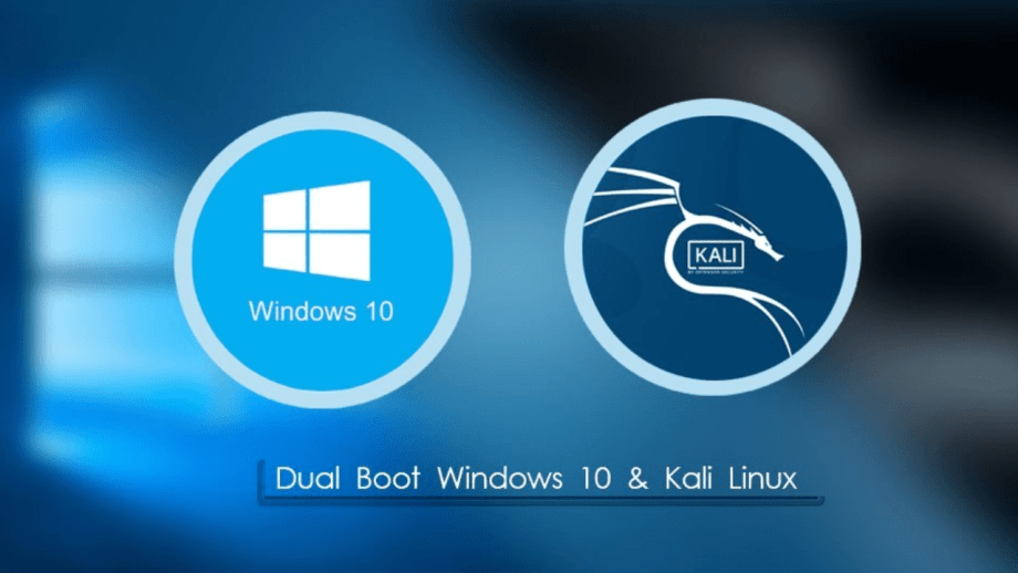 How to dual boot Windows 10 and Kali Linux