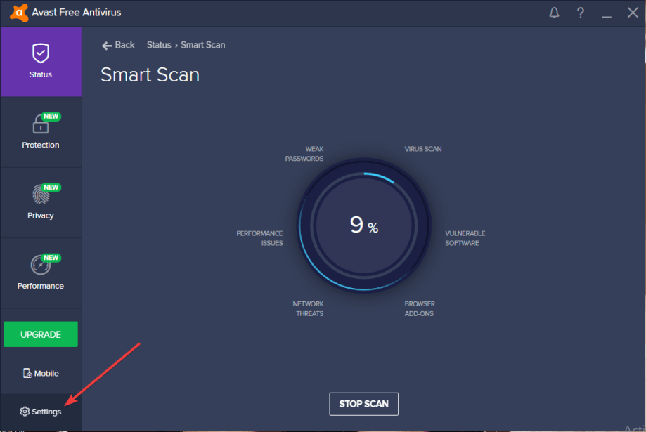 How to Fix Avast Antivirus Issues on Windows